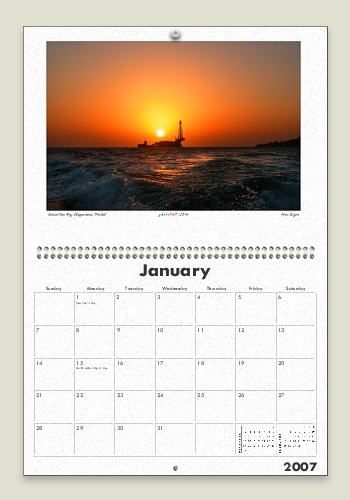 Trinidad and Tobago 2007 Wall Calendar